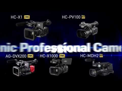 "Panasonic Professional Camcorder ""MADE IN JAPAN"" High Qualification Standard"
