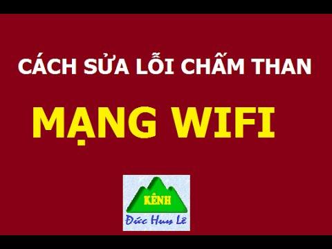Cách sửa lỗi chấm than màu vàng mạng WiFi