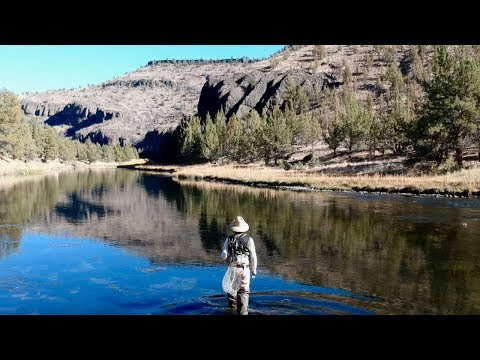 A Silent Fly Fishing Trip In Oregon
