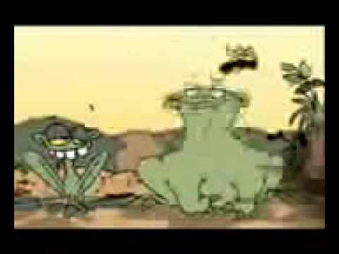 Rana come moscas para matarse de risa  YouTube