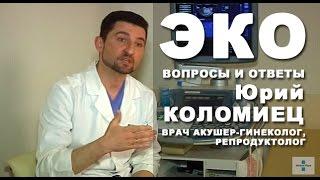эКО. Вопросы и ответы. Отвечает врач Юрий Коломиец
