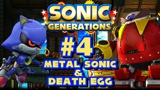 Sonic Generations PC - (1080p) Part 4 - Metal Sonic & Death Egg Robot