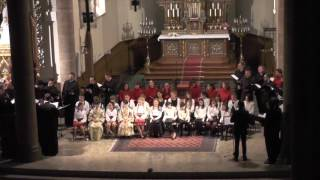 Byzantion Choir - Basilev ouranie (in Romanian)