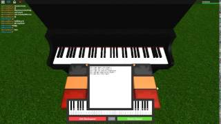 Minecraft - Minecraft par: C418 sur un piano ROBLOX.