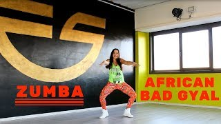 African Bad Gyal - Wizkid ft Chris Brown by Martina Banini // ZUMBA FITNESS