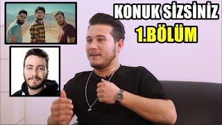 KONUK SİZSİNİZ ! İSMAİL BAKİ !GÜNDEM (Kafalar,Enes Batur,Sinema Filmi)