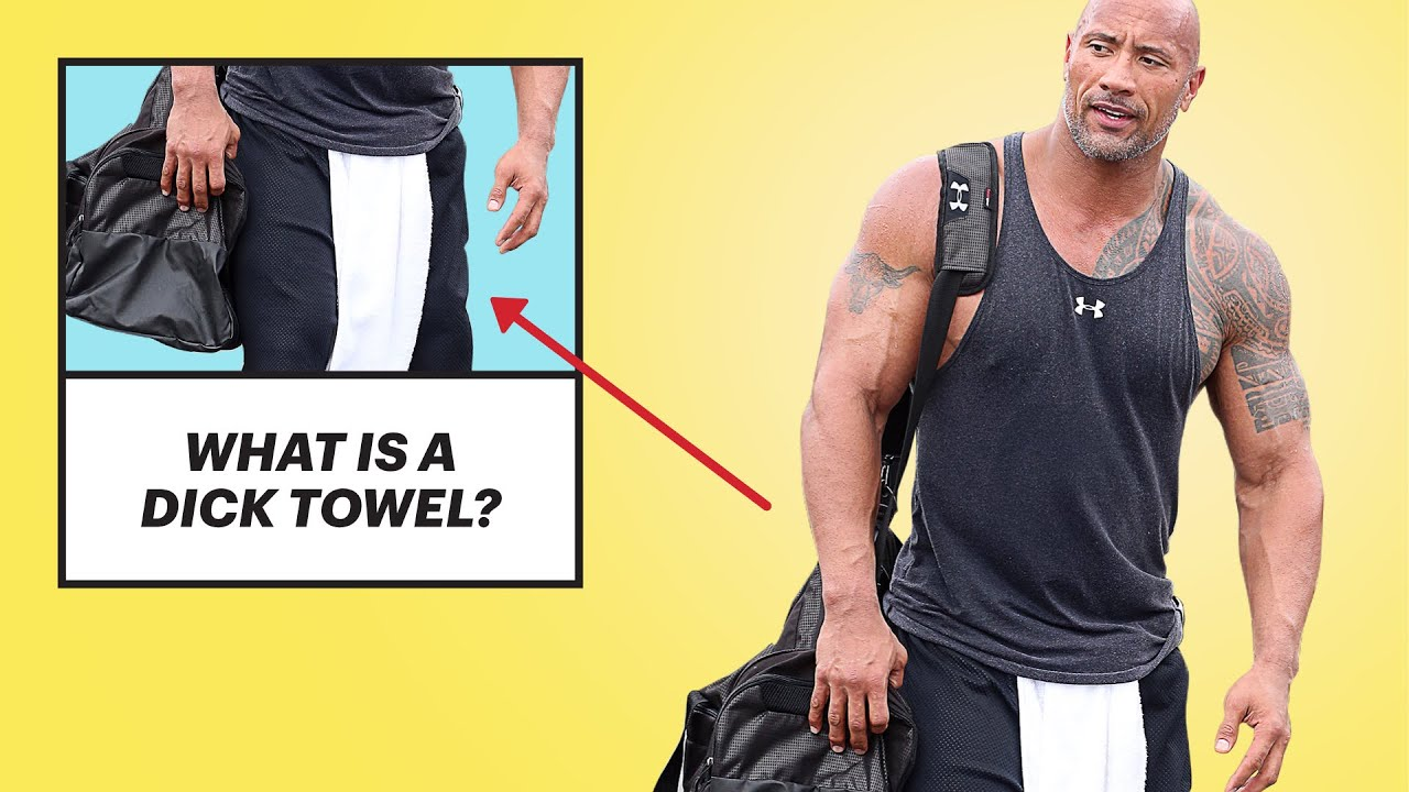 Why Are Men Wearing Dick Towels?   Get A Grip With Randall Otis   Men's  Health - YouTube