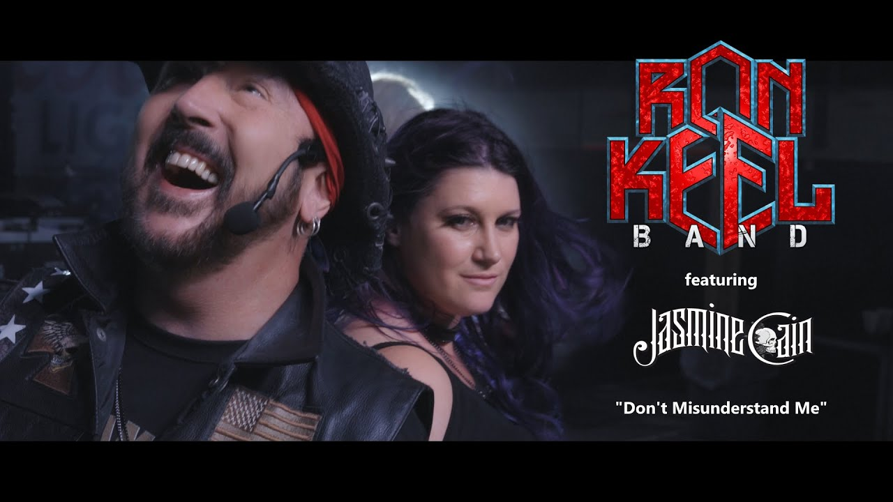 Download Ron Keel Band: DON'T MISUNDERSTAND ME featuring Jasmine Cain
