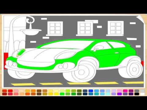 Рисунки раскраски для детей онлайн машинки для мальчиков ТАЧКИ