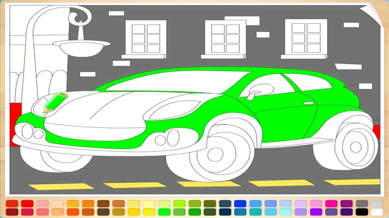 Рисунки раскраски для детей онлайн машинки для мальчиков ...