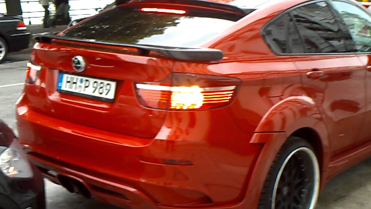 Red hamann tycoon evo m start up and small acceleration in hamburg red hamann tycoon evo m start up and small acceleration in hamburg youtube vanachro Images