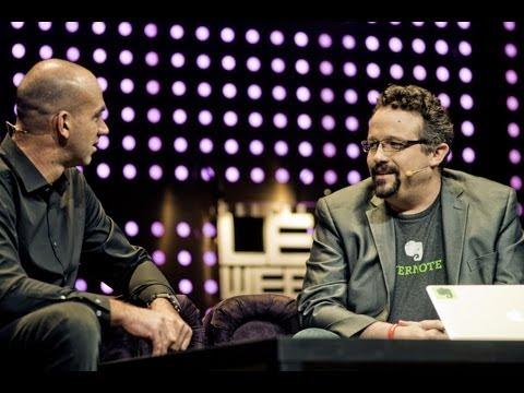 "Phil Libin Announces ""Evernote Business"" in Interview with Loic Le Meur at LeWeb Paris 2012"