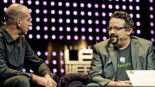 "Phil Libin Announces ""Evernote Business"" in Interview with Loic Le Meur at LeWeb Paris 2012"