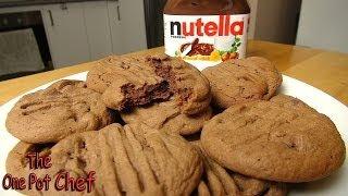 Nutella Chocolate Chip Cookies - Recipe