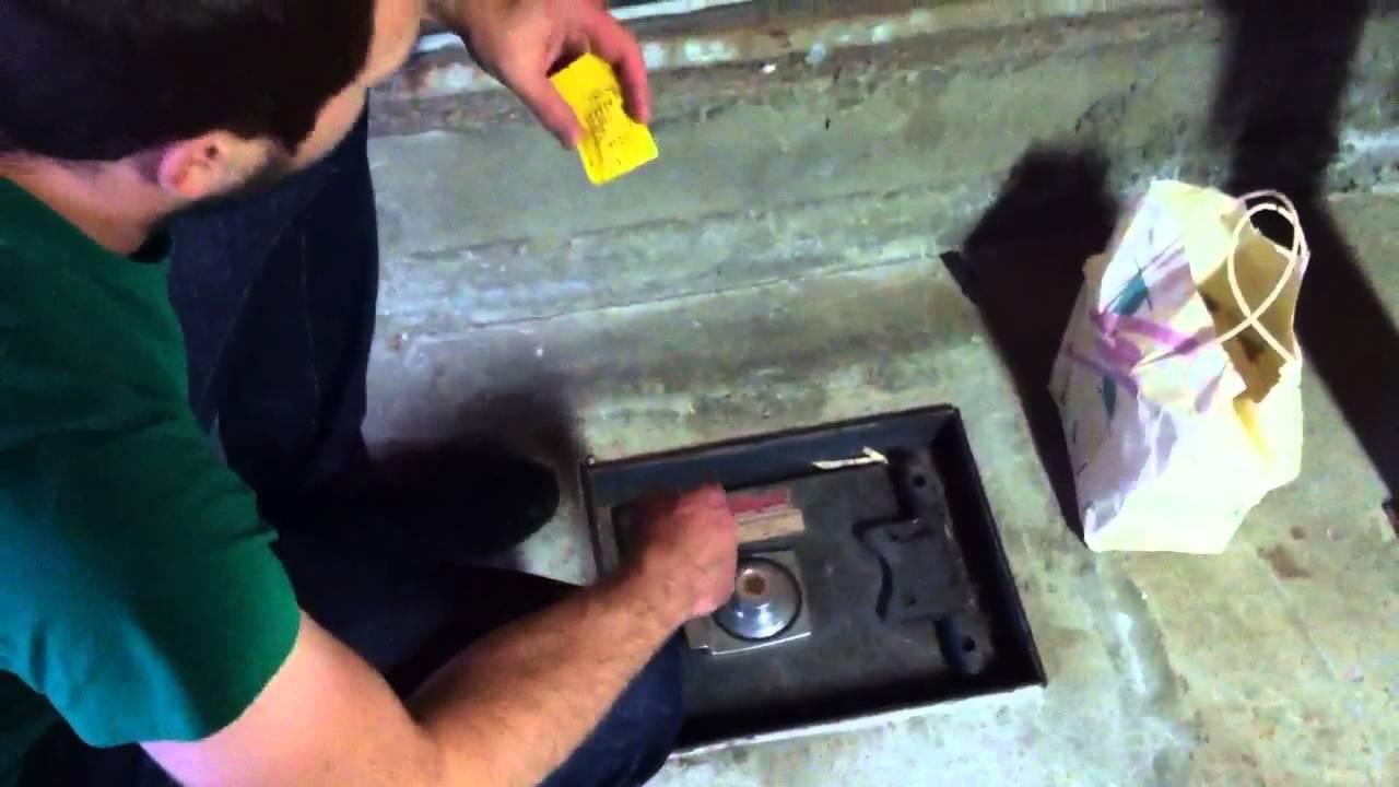Floor Safes In Concrete : Floor safe youtube