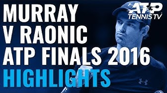 Extended Highlights: Murray vs Raonic | ATP Finals 2016