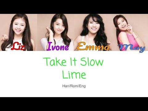 Take It Slow - Lime (Korean Version)