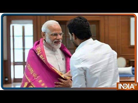 YSRCP chief Jaganmohan Reddy meets Narendra Modi in Delhi