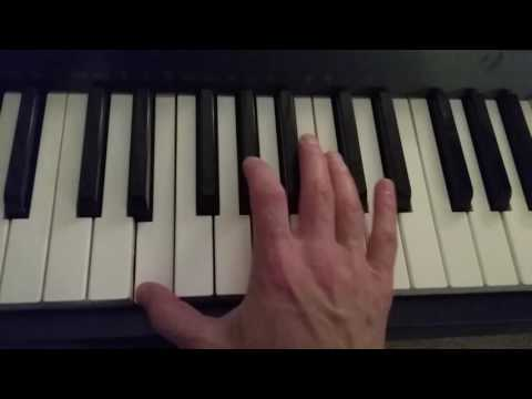 how to play an e major 7 chord on piano