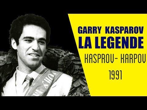 Capitaine Fab nous présente une nouvelle partie de Garry Kasparov