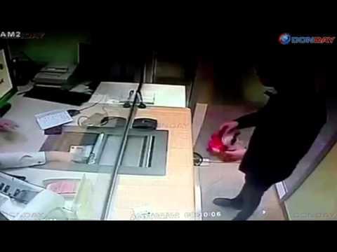 Ограбление Сбербанка в Ростове-на-Дону