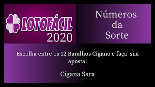 Previsão Lotofácil, Números da Sorte 2020
