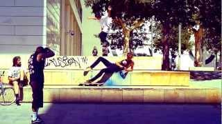 Mihnea Groseanu & Radu Nedelea  skateboarding @ MACBA Barcelona