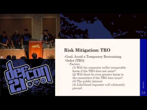 DEF CON 21 - James Denaro - How to Disclose or Sell an Exploit