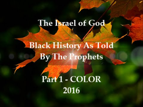 IOG - Black History As Told By The Prophets - Part 1 - COLOR (2016)