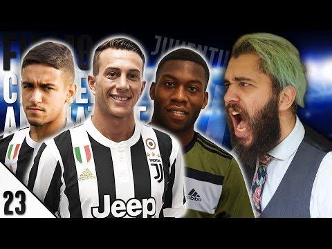 QUARTI CON IL REAL MADRID! BERNARDESCHI FENOMENO! - E23 - FIFA 18 Carriera Allenatore Juventus [ITA]