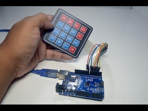 44 Keypad For Arduino LinkSprite Learning Center