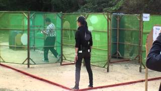 IPSC Level III Macau Stage 3 - Girl in B...