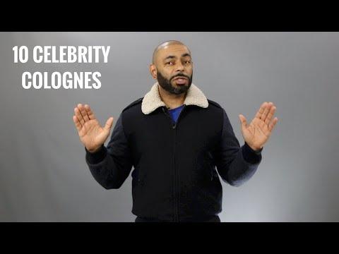 10 Best Celebrity Men's Colognes/Best Men's Celebrity Fragrances