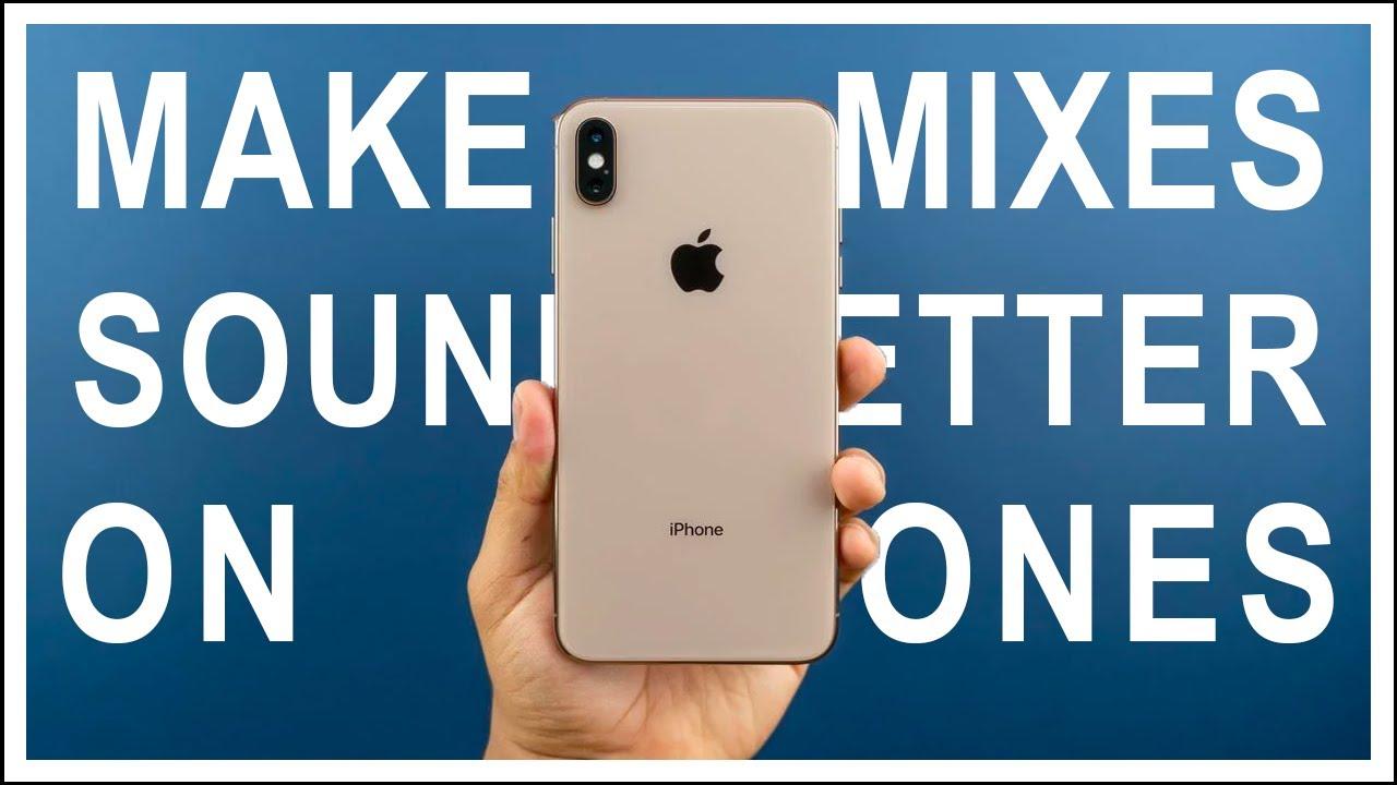 Make Mixes Sound Better On Phones - Mix Tip Monday (Logic Pro X)