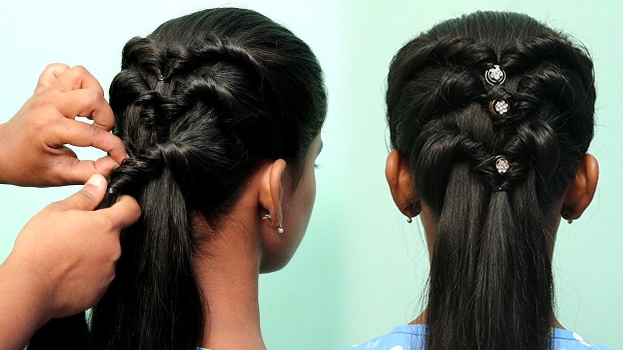 Easy Party Hairstyles For Girls Cute Kids Hairstyles For Girls Latest Hairstyles For Girls Youtube