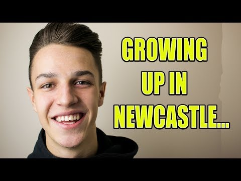 GROWING UP IN NEWCASTLE...
