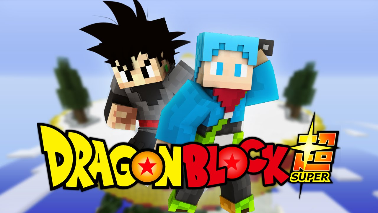 DRAGON BALL SUPER MINECRAFT Black GokuFuture Trunks Dragon Block - Skins para minecraft pe trunks