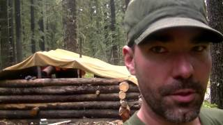 building a log cabin/ tearing down the lean two