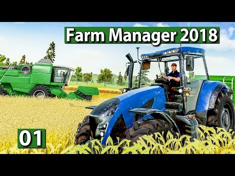 "FARM MANAGER 2018 🐄 Bauernhof WiSim mit ""Hoher Tiefe"" ► BETA Preview deutsch german"