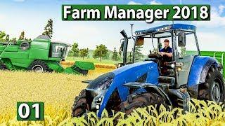 """FARM MANAGER 2018 🐄 Bauernhof WiSim mit """"Hoher Tiefe"""" ► BETA Preview deutsch german"""