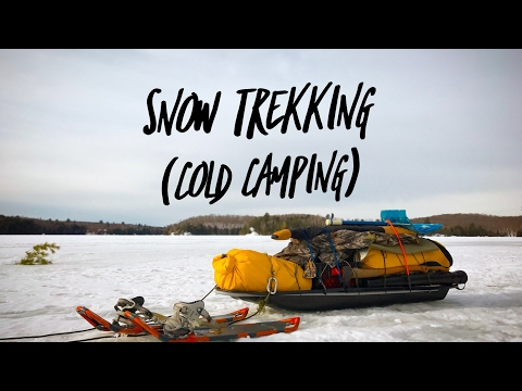 Snow trekking (cold camping)
