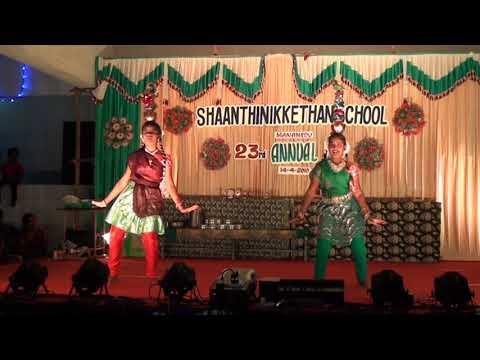 DANCE Karagam.Aadi vanthen.Shaanthi Nikkethan matric school Manamedu
