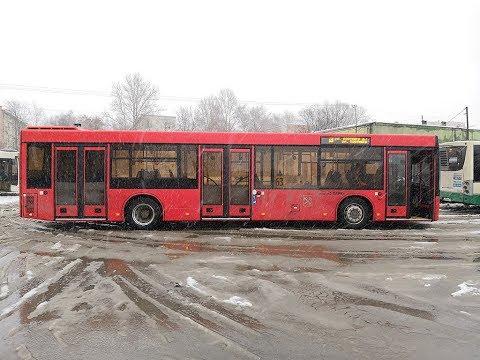 Городской низкопольный автобус МАЗ 203 2018 года (2 штуки)