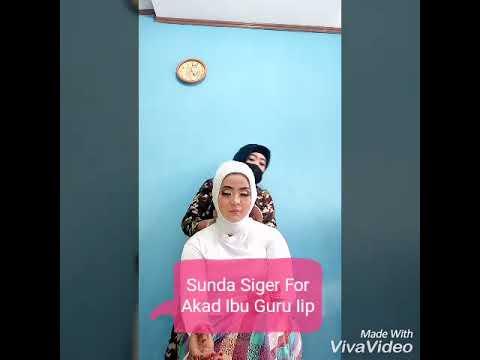 Pengantin Hijab Syari Sunda Siger
