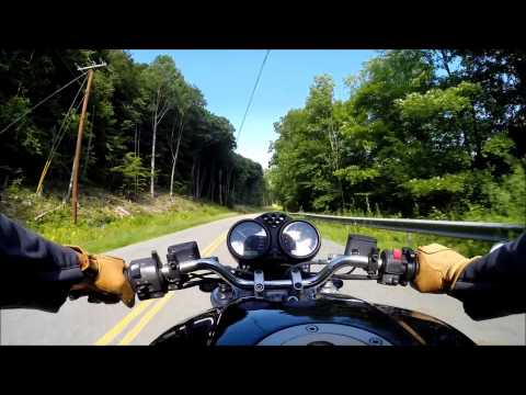 Ducati Monster - Upstate New York Ride 1 Part 1