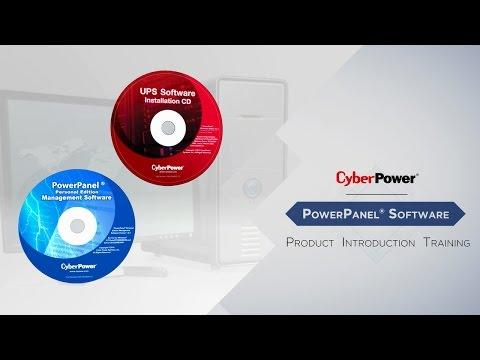 CyberPower PowerPanel® Software Product Introduction