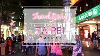 TAIPEI, TAIWAN PT. 1 : XIMENDING   AH ZHONG MIAN XIAN   RAOHE NIGHT MARKET