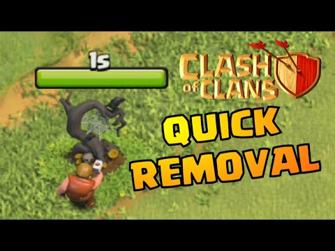 WHAT'S INSIDE HALLOWEEN OBSTACLE IN CLASH OF CLANS!? | COC REMOVING OCTOBER REMOVAL UPDATE 2019