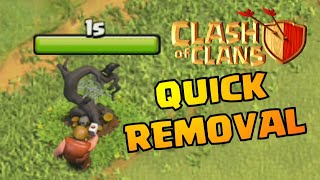 WHAT'S INSIDE HALLOWEEN OBSTACLE IN CLASH OF CLANS!?   COC REMOVING OCTOBER REMOVAL UPDATE 2019