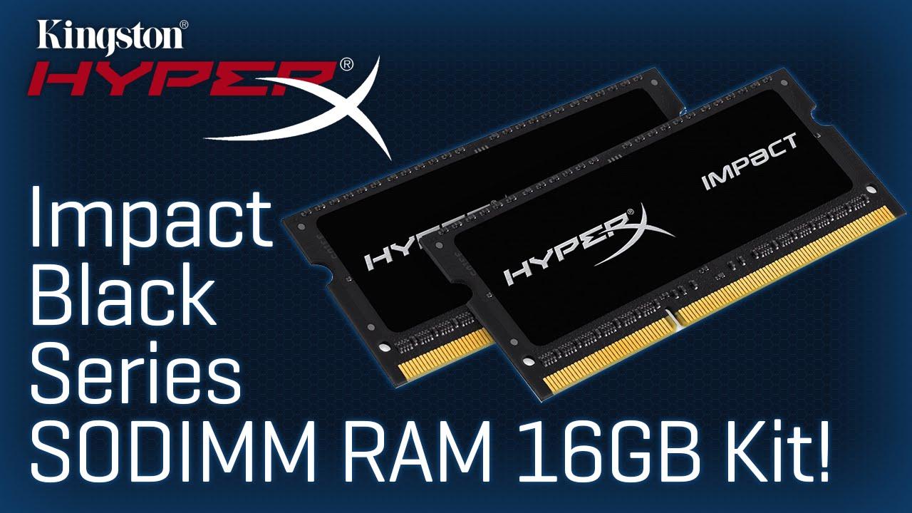2X8GB RAM DDR4 2133 HX421S13IBK2//16 NEW Kingston Technology HyperX Impact 16GB